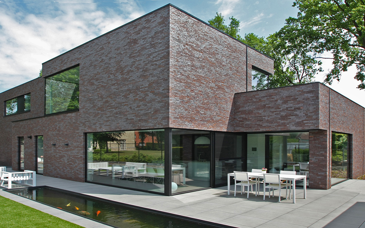 architecten woning in zonhoven jaeken aluminium